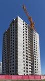 Condominio dell'appartamento della costruzione della nuova costruzione Immagine Stock