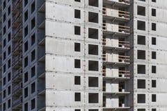 Condominio dell'appartamento della costruzione della nuova costruzione Fotografia Stock Libera da Diritti