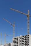 Condominio dell'appartamento della costruzione della nuova costruzione Fotografie Stock