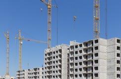 Condominio dell'appartamento della costruzione della nuova costruzione Immagini Stock