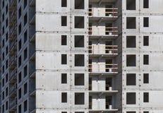 Condominio dell'appartamento della costruzione della nuova costruzione Immagine Stock Libera da Diritti