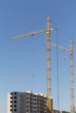 Condominio dell'appartamento della costruzione della nuova costruzione Fotografia Stock