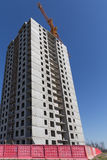 Condominio dell'appartamento della costruzione della nuova costruzione Immagini Stock Libere da Diritti