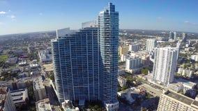 Condominio Miami de la bahía de Paramount almacen de video
