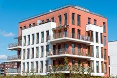Condominio moderno a Berlino Immagini Stock