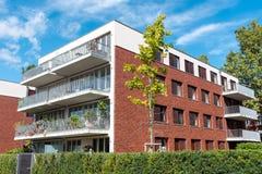 Condominio moderno a Berlino Fotografie Stock