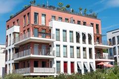 Condominio moderno a Berlino Immagine Stock