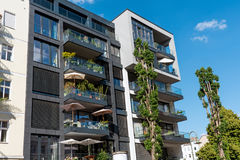 Condominio moderno a Berlino Immagine Stock Libera da Diritti