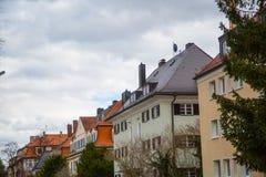 Condominio a Monaco di Baviera, affittato, vivente, idillio Fotografie Stock