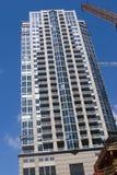 Condominio residencial alto Imagen de archivo libre de regalías