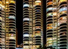 Condominio Tortugas, Guaruja Fotografia de Stock Royalty Free