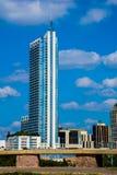 Condominio verticale che sta da solo Austin il Texas Immagine Stock Libera da Diritti