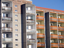 Condominions Royalty Free Stock Images