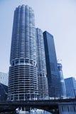 Condominios de Chicago Foto de archivo