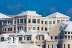 Condominios en Bermudas Foto de archivo