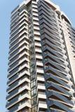 Condominium against sky Royalty Free Stock Photography