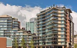 Condominium or apartment building Stock Photography