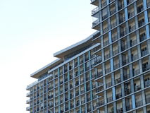 Condominium or apartment building Stock Photo