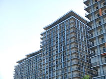 Condominium or apartment building Stock Photos