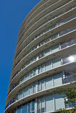 Condominium or apartment building Royalty Free Stock Photo