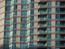 Condominium apartments close-up Stock Photos