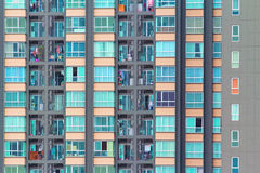 Condominium background Royalty Free Stock Images