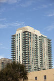 Condominium with blue sky Stock Photography