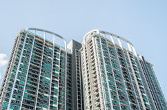 Condominium building for stay and  office Stock Photo