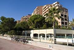 Condominium buildings royalty free stock photos