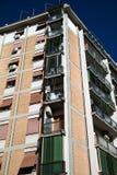 Condominium buildings Stock Image