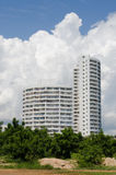 Condominium buildings Stock Photography