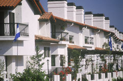 Condominium complex, Pacific Palisades, CA Royalty Free Stock Photography
