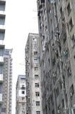 Condominium congestionné serré Images stock