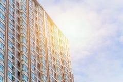 condominium Costruzione di appartamento immagini stock libere da diritti