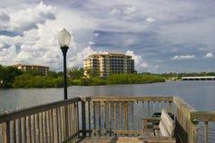 Condominium de bord de mer Images libres de droits