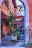 Condominium de Trastevere, Rome, Italie Photographie stock