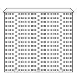 Condominium icon Royalty Free Stock Images