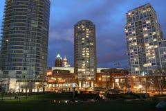 Condominium Lights Stock Images
