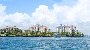 CONDOMINIUM AT MIAMI Royalty Free Stock Photos