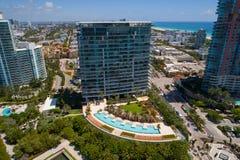 Condominium Miami Beach d'apogée photographie stock