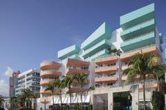 Condominium Miami d'art déco Photos stock