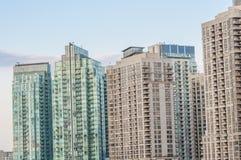 Condominium in Mississauga ontario. High rise condominium at Mississauga ontario Stock Photography