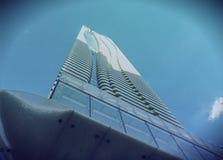 Condominium occidental de Bloor de la vue une d'angle faible à Toronto Photographie stock libre de droits