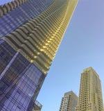 Condominium occidental de Bloor de la vue une d'angle faible à Toronto Image stock