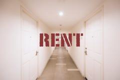 Condominium for rent Stock Photo