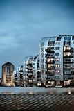 Condominium skyscraper. Abstract modern architecture in the Netherlands Stock Images