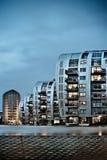 Condominium skyscraper Stock Images