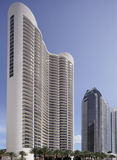 Condominium Sunny Isles de tour d'atout Photos libres de droits