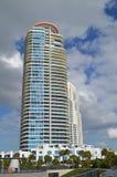Condominium tower, South Beach, Florida Stock Images