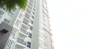Condominium Tower stock video footage